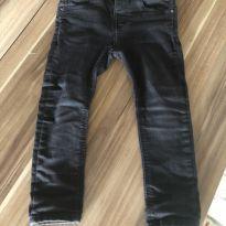 Jeans preto desbotado - 24 a 36 meses - Zara