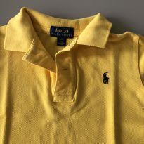Polo amarela - 2 anos - Ralph Lauren