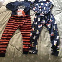 2 pijamas Carter's - 3 anos - Carter`s