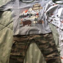 2 pijamas Carter's meia estação - 3 anos - Carter`s