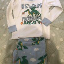 Pijama calça flanela - 3 anos - Carter`s