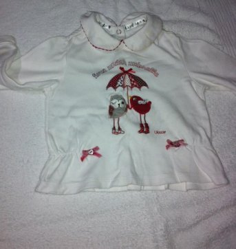 060 - Blusa Infantil Chicco - 1 ano - Chicco