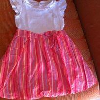 048 - Vestido Balone - 1 ano - Carinhoso