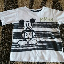 Camiseta mickey - 2 anos - Disney