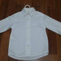 Camisa branca - 2 anos - 1+1