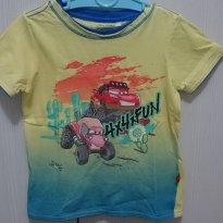 Camiseta carros - 18 meses - Disney