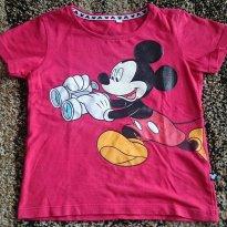 Camiseta Mickey vermelha - 18 meses - Disney