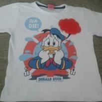 Camiseta pato donald - 3 anos - MICKEY