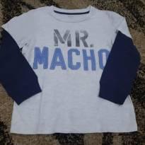Camiseta Mr macho - 4 anos - Carter`s
