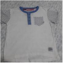 Camiseta estrela - 4 anos - Não informada