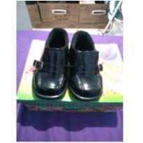 Sapato social verniz preto - 19 - Passobelle