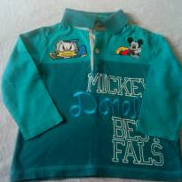 Camiseta manga comprida - 12 a 18 meses - Disney