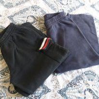 2 calças de moletom - 4 anos - Não informada