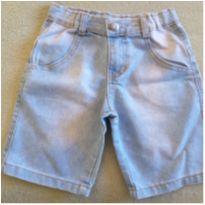 Bermuda jeans - 4 anos - Onda Marinha
