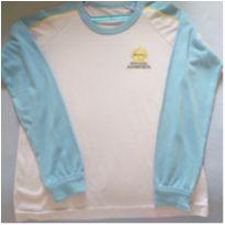 Camiseta manga comprida uniforme adventista - 6 anos - Não informada