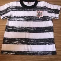 Camiseta corinthians - 2 anos - Rêve D`or