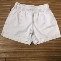 Shorts branco - 1 ano - Carter`s