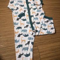 Macacão pijama animais - 4 anos - Kyly