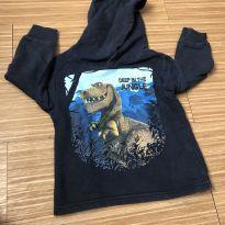 Blusa dinossauro com capuz - 2 anos - Kyly