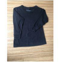 Camiseta manga longa preta - 2 anos - Rovitex Kids