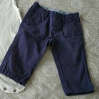 Calça de sarja azul marinho - 3 meses - Carter`s