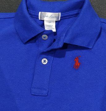 Pólo Ralph Lauren azul - 6 meses - Ralph Lauren