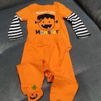 Conjuntinho de halloween - 9 meses - Koala Kids