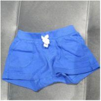 Shorts azul escuro - 6 meses - Carter`s
