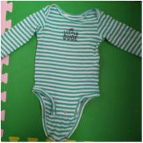 Body de manga longa little dude - 1 ano - Carter`s