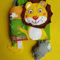 livrinho de pano leãozinho -  - Sem marca