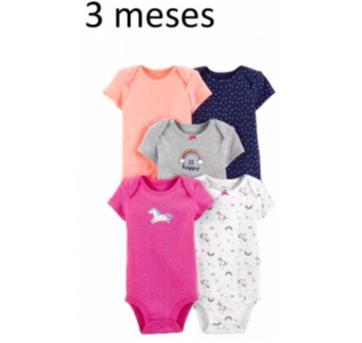 Kit Com 5 - Body / Bodies (3 Meses) - Carter`s - 3 meses - Carter`s