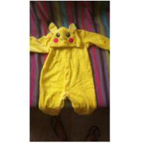 Macacão Pikachu - 12 a 18 meses - Sem marca
