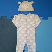 Pijama ovelhinhas Carter`s - 9 meses - Carter`s
