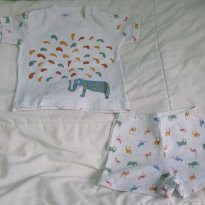 Pijama Dedeka - 3 a 6 meses - Dedeka