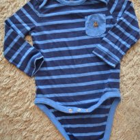 BODY MANGA LONGA - 12 a 18 meses - Baby Gap
