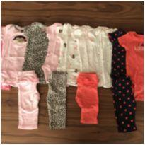 Kit body e calça carter's - 0 a 3 meses - Child of Mine