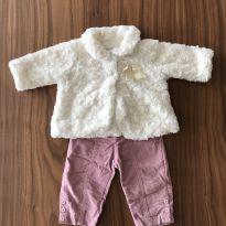 Conjunto de calça e casaco - 3 meses - Noruega Baby