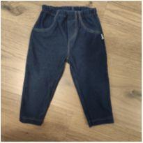 Calça jeans confortável - 3 meses - Pingo Lelê