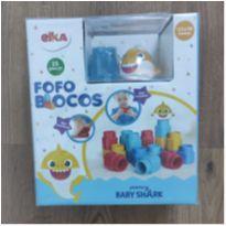 Fofo Blocos Baby Shark -  - Elka