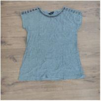 Blusa cinza gestante - M - 40 - 42 - Due Vita