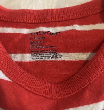 Body regata vermelho Baby Gap - 0 a 3 meses - Baby Gap