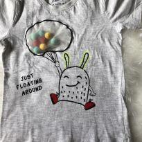 Camiseta interativa monstrinho - 2 anos - Poim