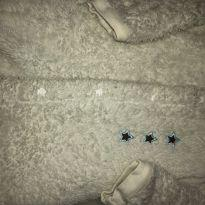 Macacão felpudo ursinho - 3 a 6 meses - Teddy Boom