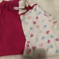 Conjunto Body e calça - 3 a 6 meses - Baby & Baby