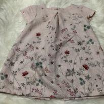 Vestido Zara delicado flores - 6 a 9 meses - Zara