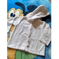 Casaquinho Branco - 9 a 12 meses - Baby Classic