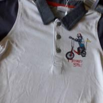 Camiseta CHICCO NOVA com etiqueta - 12 a 18 meses - Chicco