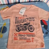 Camiseta NOVA - 4 anos - MOB