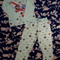 Pijama NOVO com etiqueta abaixei o $$ - 24 a 36 meses - Estrelinha Azul