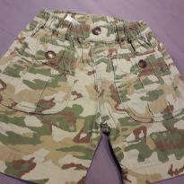 Shorts Camuflado - 12 a 18 meses - Importada
